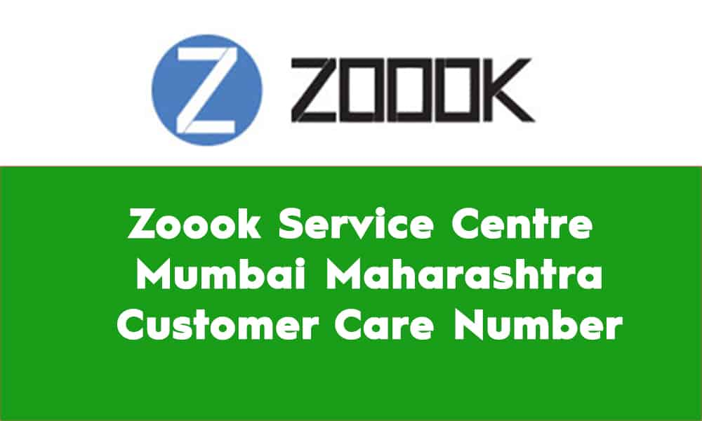Zoook Service Centre Mumbai Maharashtra Customer Care Number