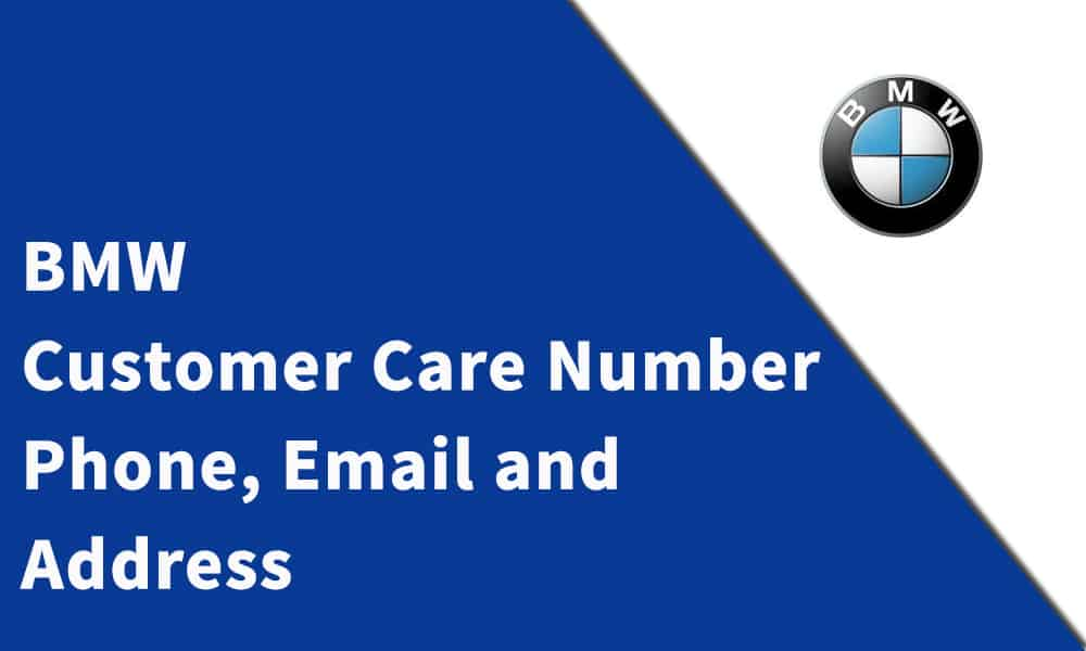 BMW Customer Care Number