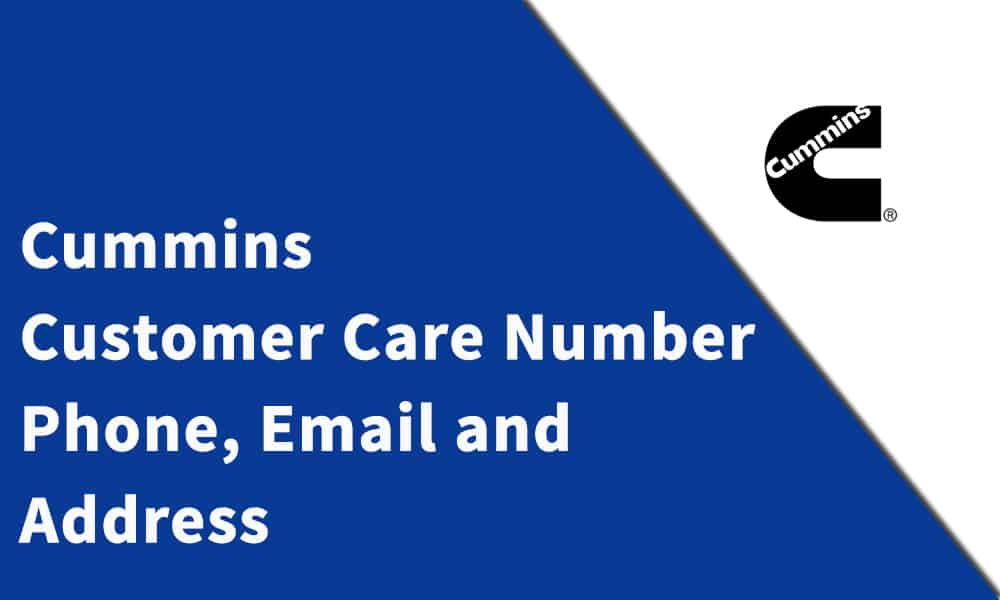 Cummins Customer Care Number