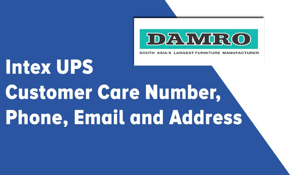 Damro Furniture Customer Care Number, Phone, Email and Address