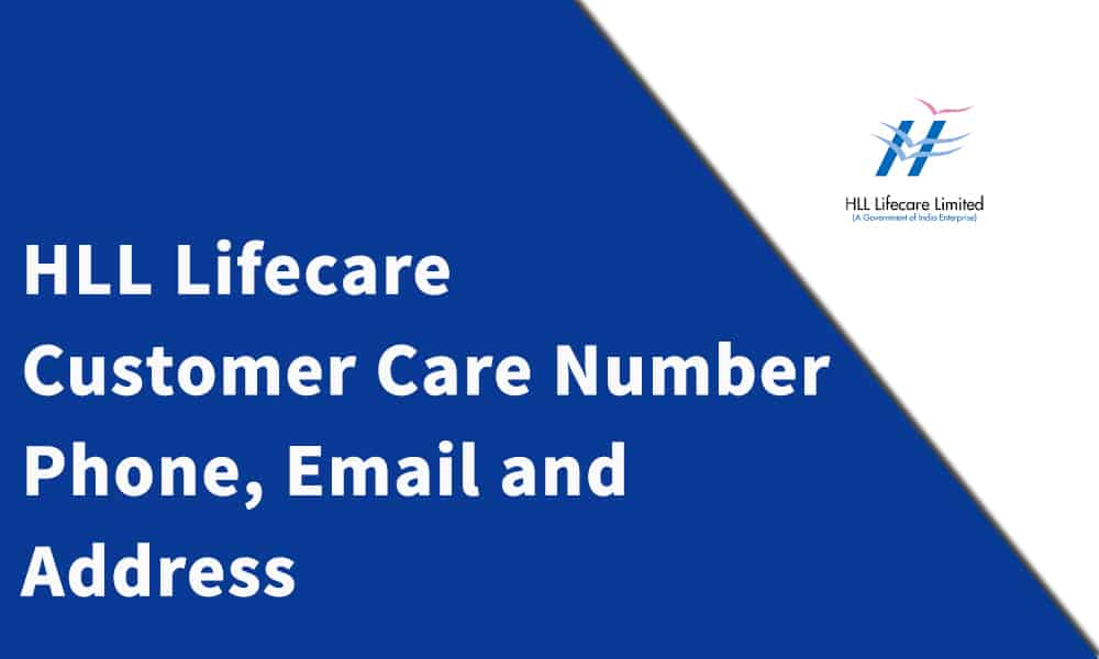HLL Lifecare Customer Care Number