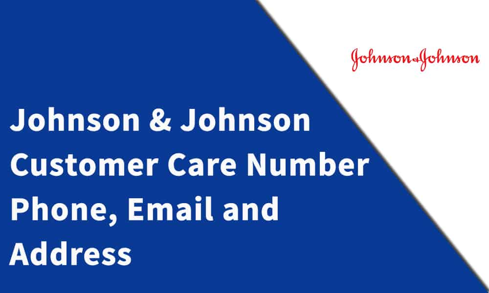 Johnson & Johnson Customer Care Number