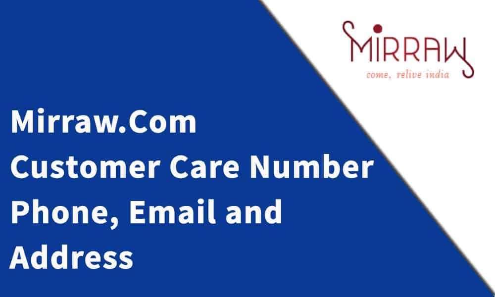 Mirraw.Com Customer Care Number