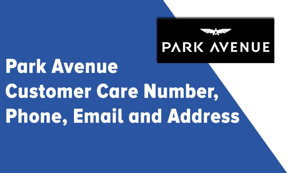 Park Avenue Customer Care Number