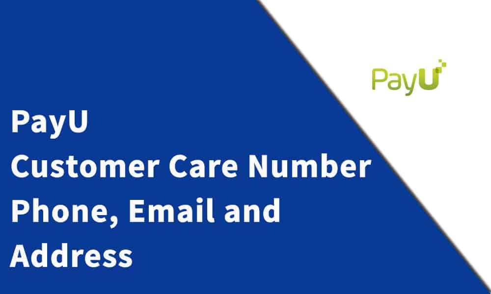 PayU Customer Care Number
