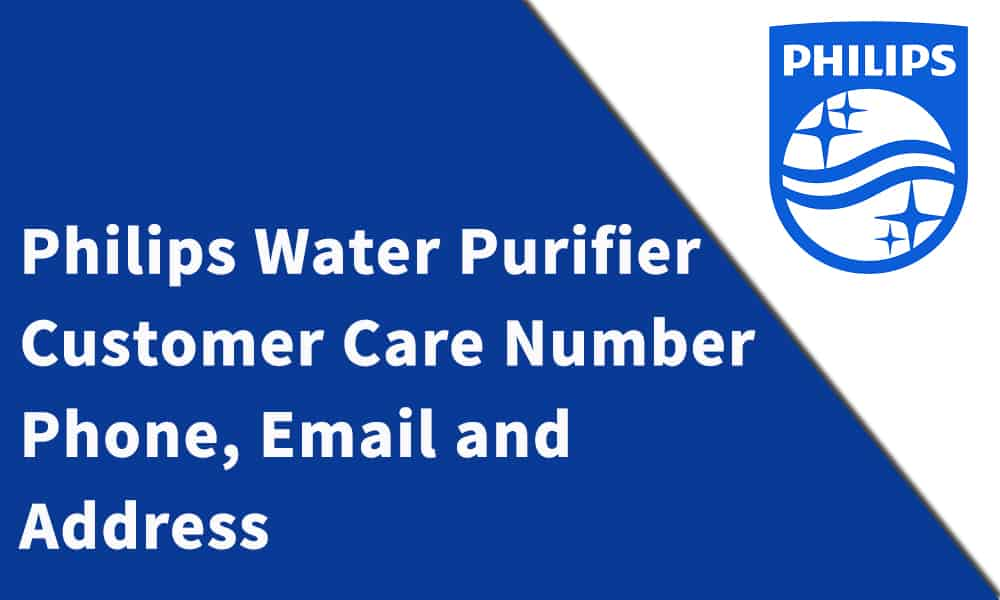Philips Water Purifier Customer Care Number