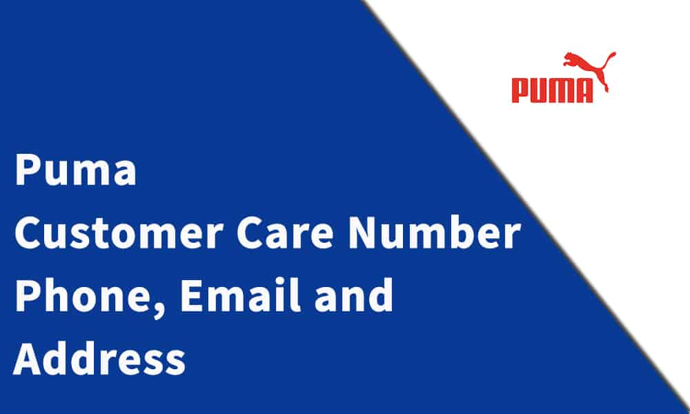 Puma Customer Care Number, Phone, Email and Address