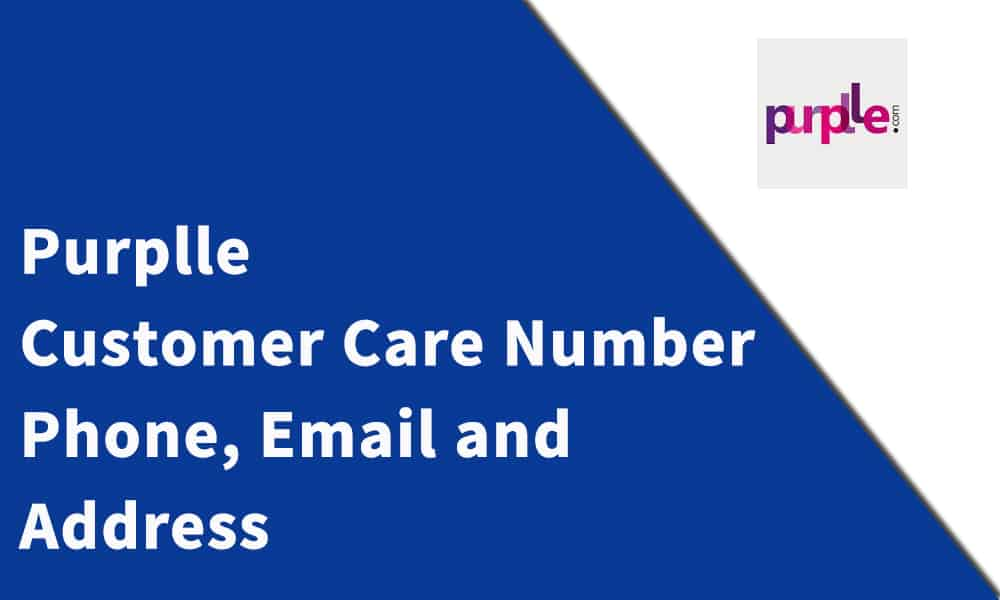 Purplle Customer Care Number, Phone, Email and Address