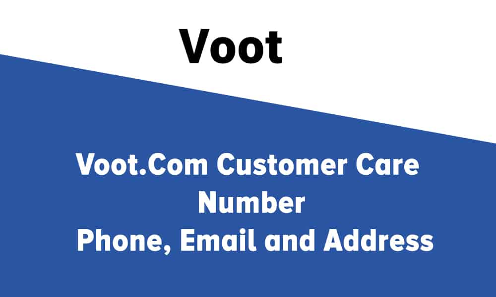 Voot Customer Care Number, Phone, Email and Address
