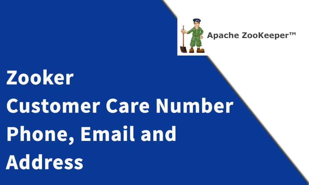 Zooker Customer Care Number