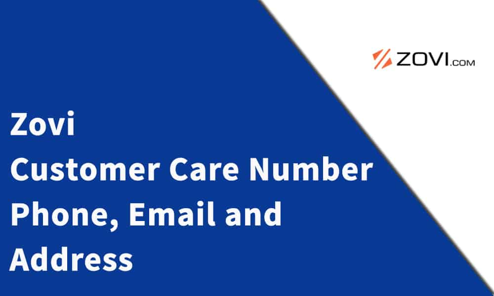 Zovi Customer Care Number