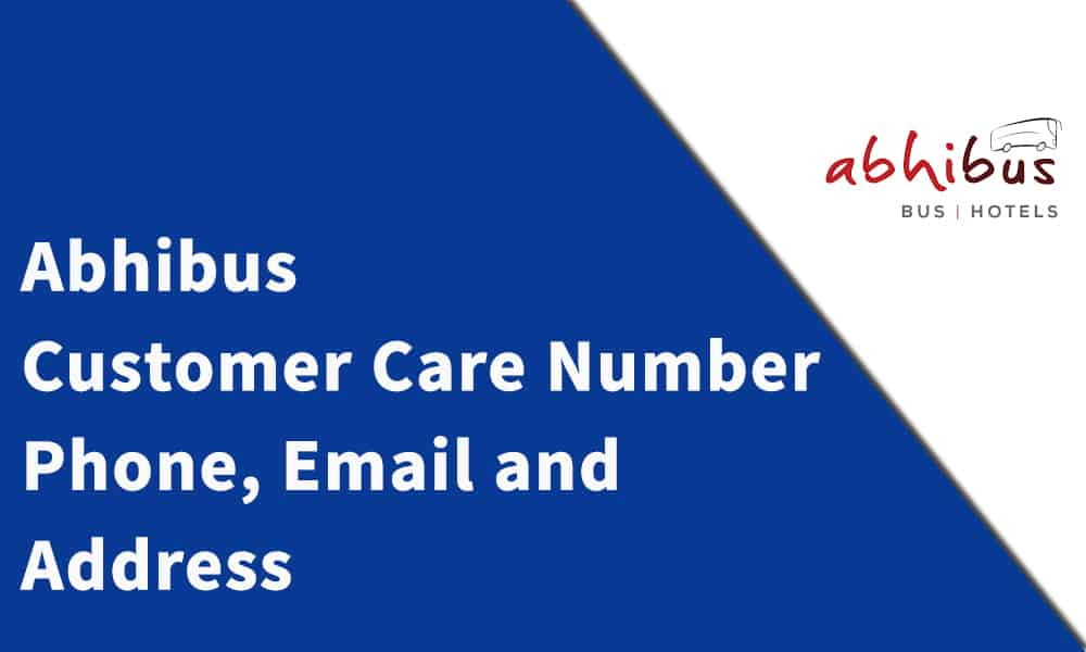 Abhibus Customer Care Number, Phone, Email and Address