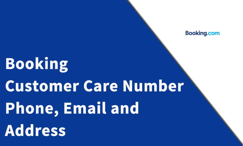 Booking Customer Care Number,