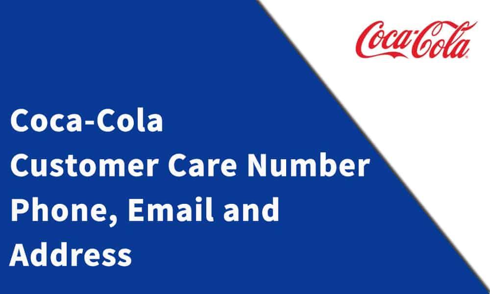 Coca-Cola Customer Care Number