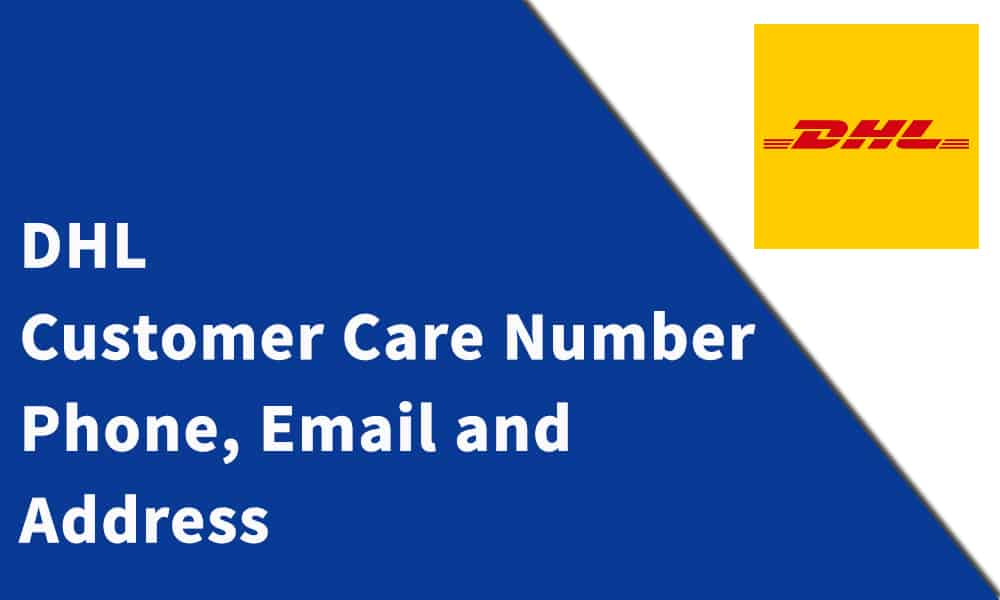 DHL Customer Care Number