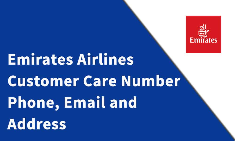 Emirates Airlines Customer Care Number