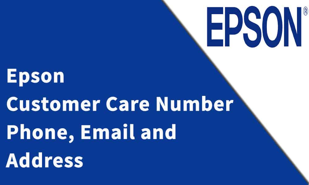 Epson Customer Care Number