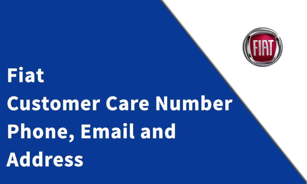 Fiat Customer Care Number