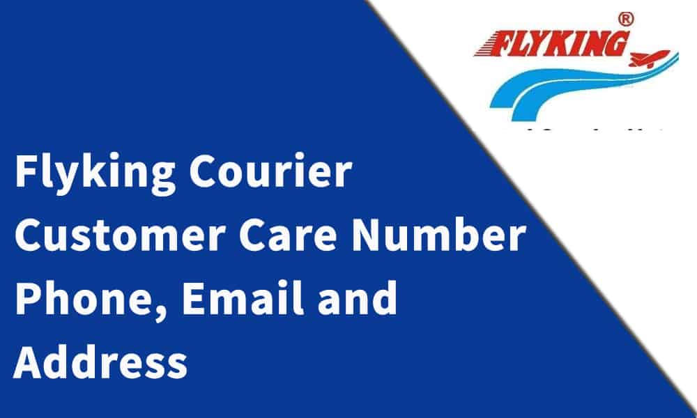 Flyking Courier Customer Care Number,Phone, Email and Address