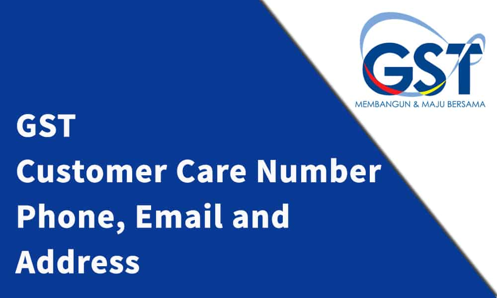 GST Customer Care Number