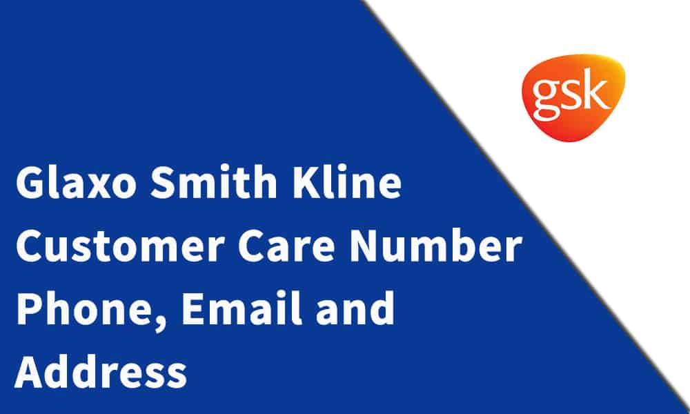 Glaxo Smith Kline Customer Care Number
