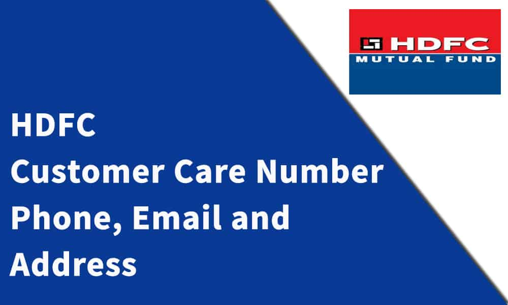 HDFC Bank Customer Care Number,Phone, Email and Address