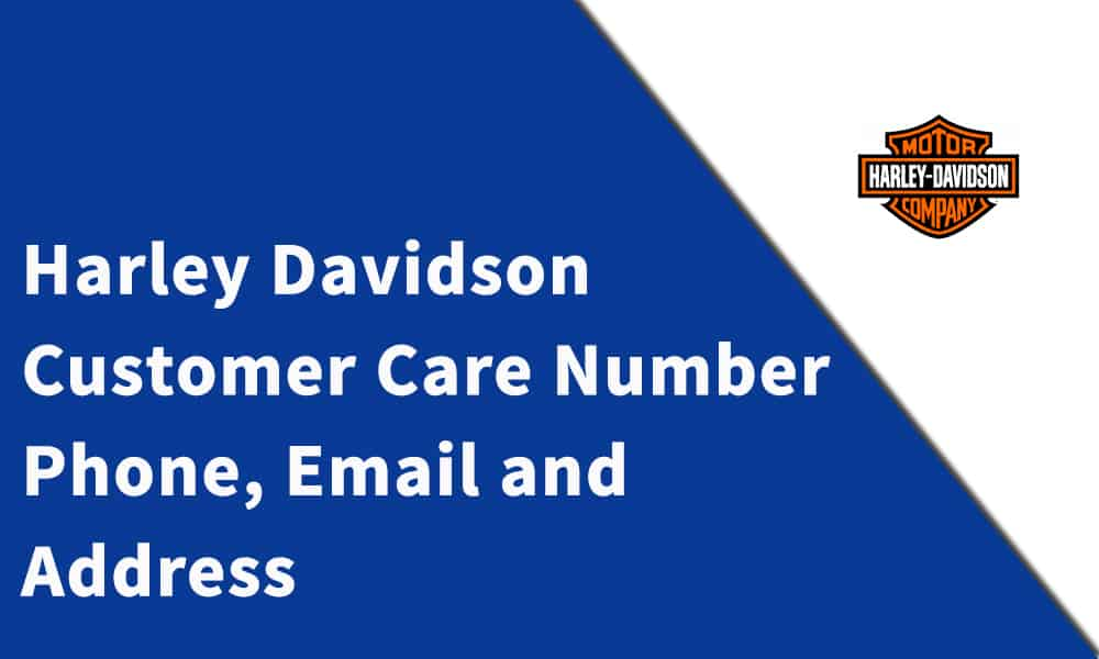 Harley-Davidson Customer Care Number