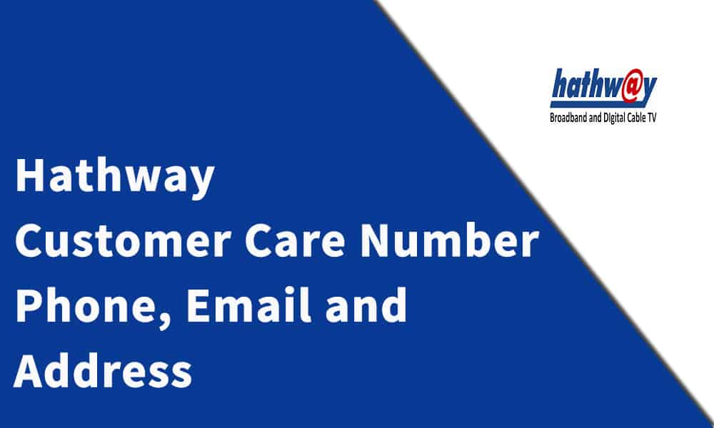 Hathway Customer Care Number