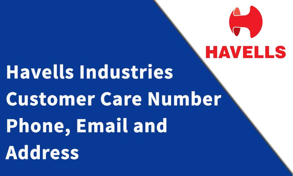 Havells Industries Customer Care Number