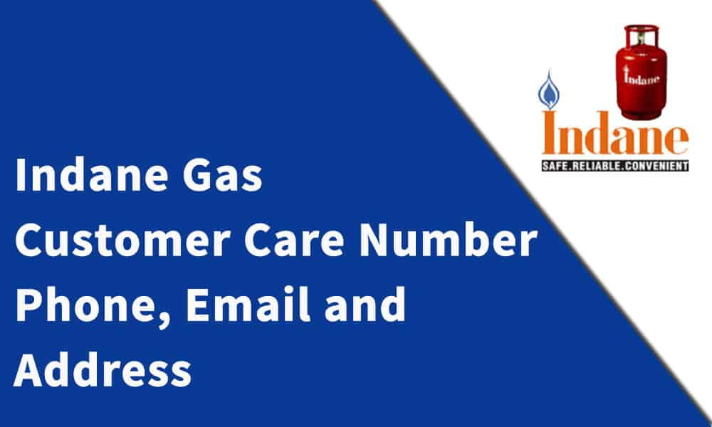 Indane Gas Customer Care Number