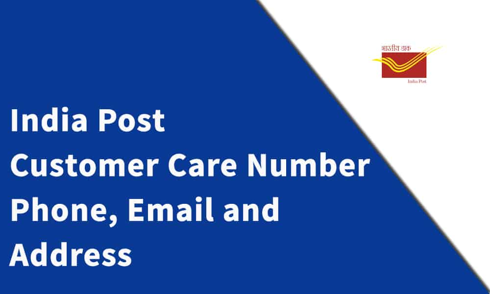 India Post Customer Care Number