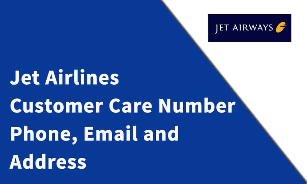 Jet Airlines Customer Care Number