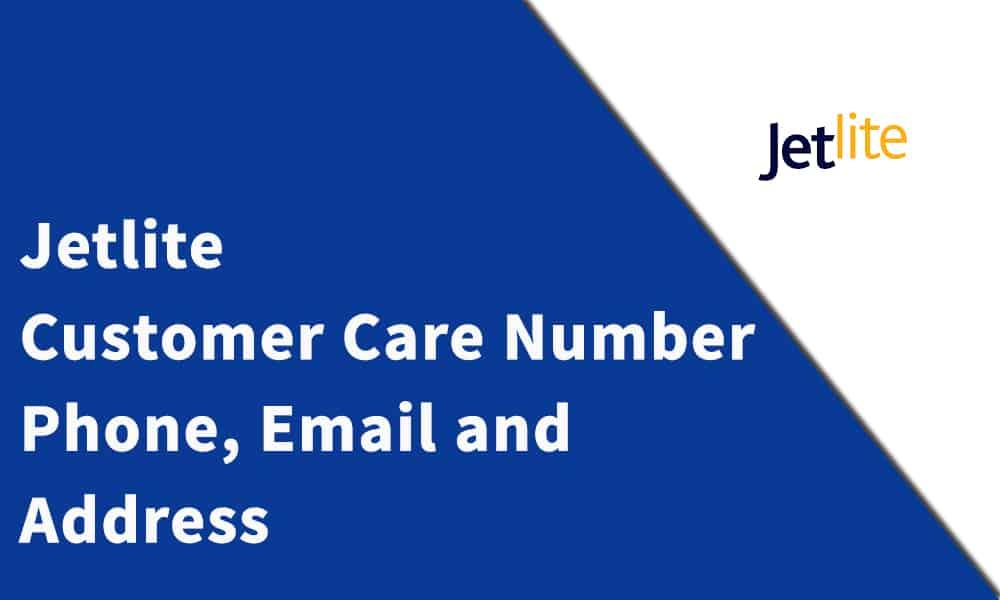 Jetlite Customer Care Number
