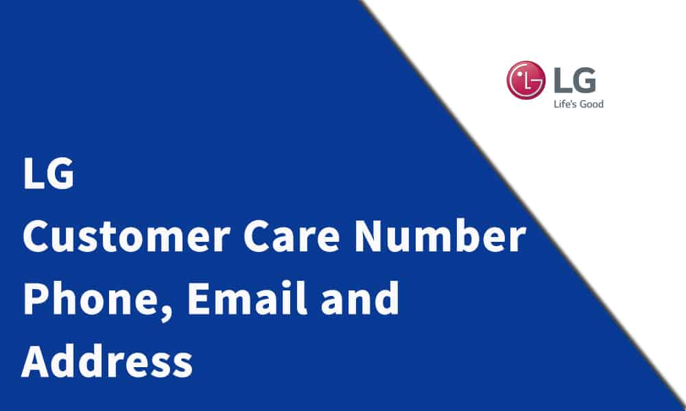 LG Customer Care Number