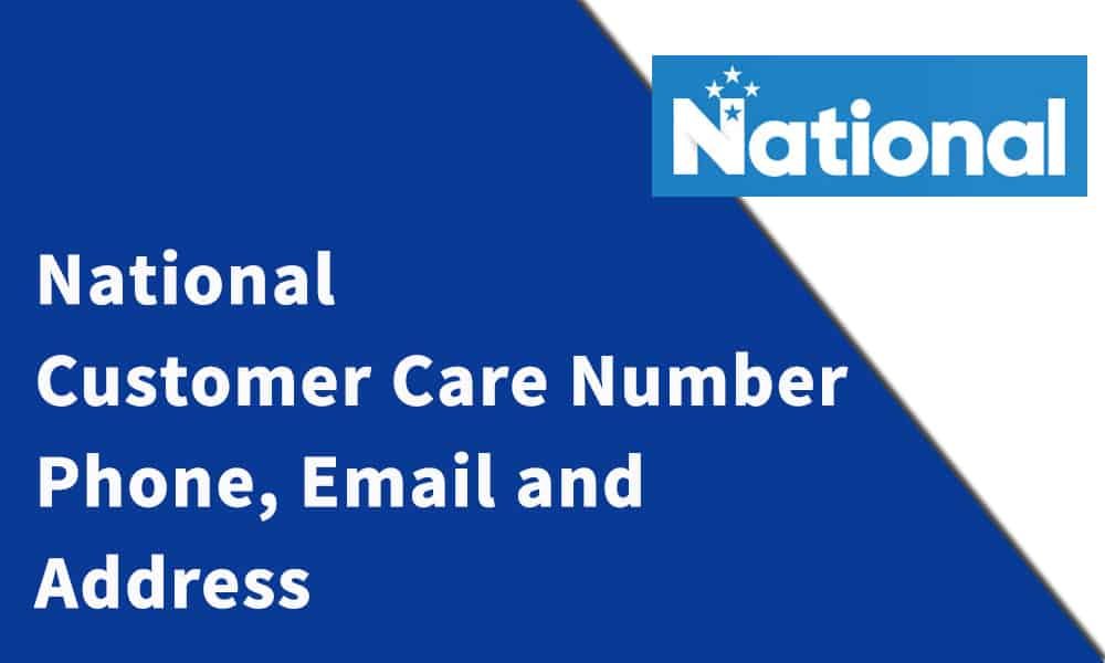 National Customer Care Number