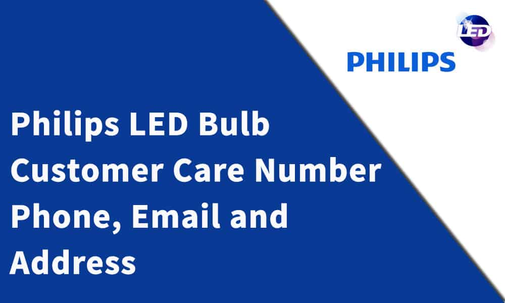 Philips LED Bulb Customer Care Number
