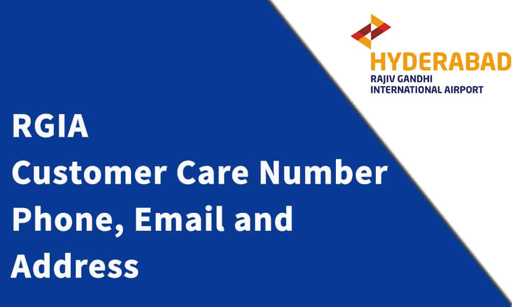 Rajiv Gandhi International Airport Customer Care Number