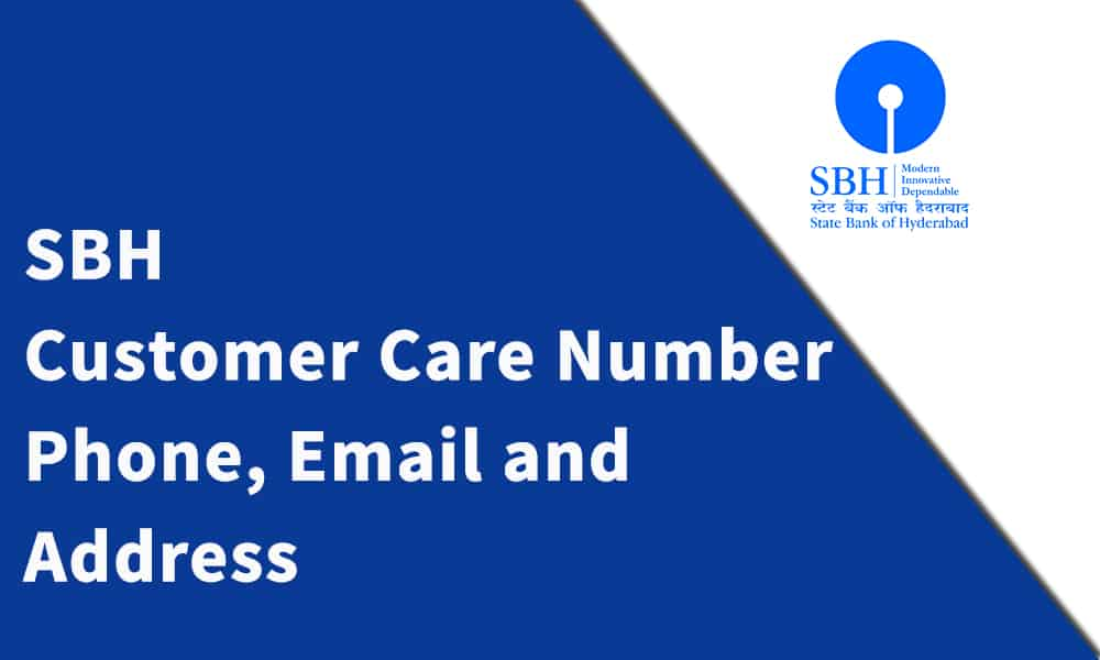 SBH Customer Care Number, Phone, Email and Address