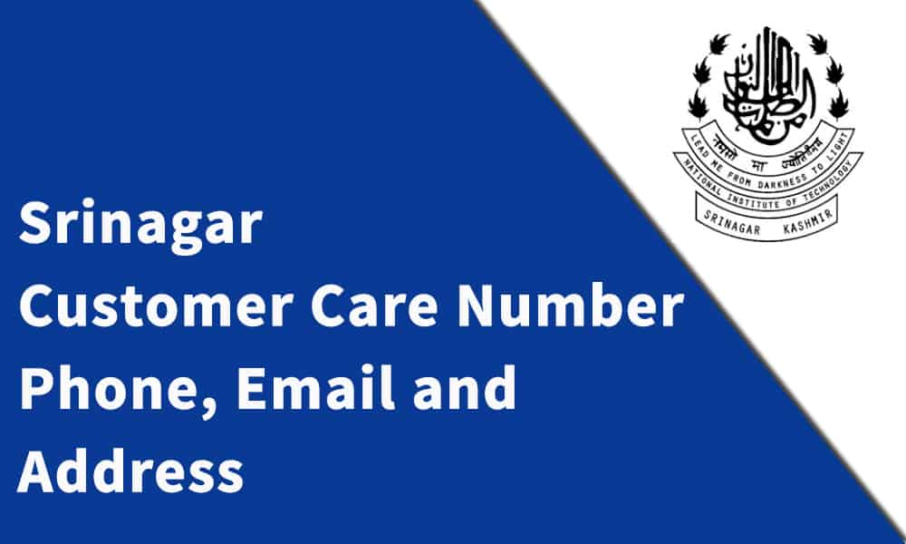 Srinagar Consultants Customer Care Number