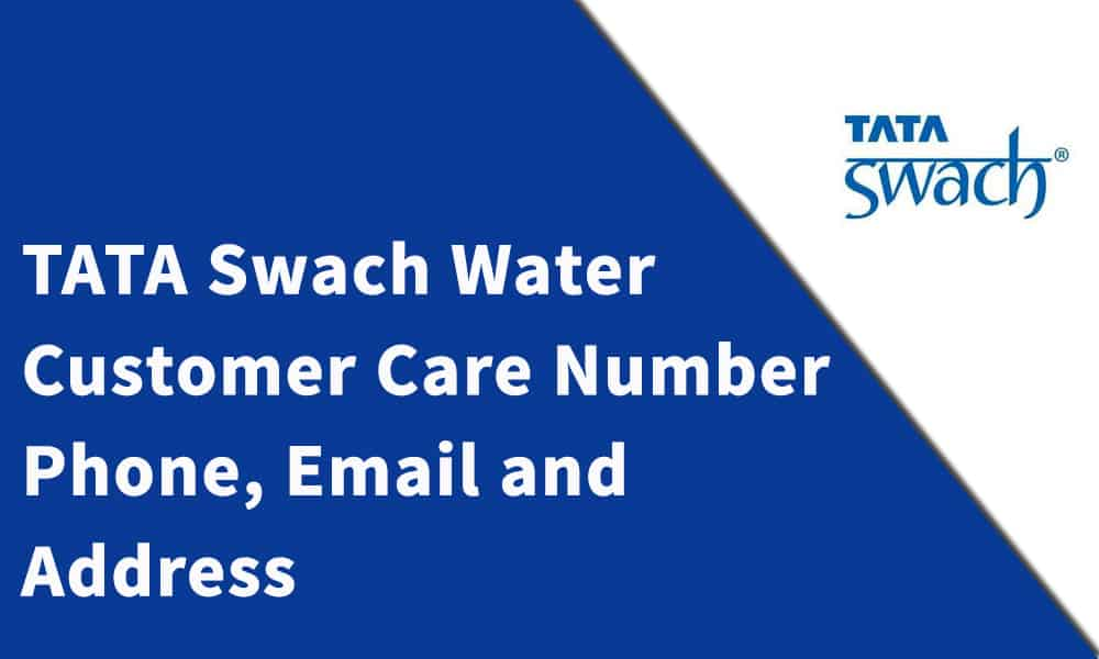 TATA Swach Water Purifier Customer Care Number