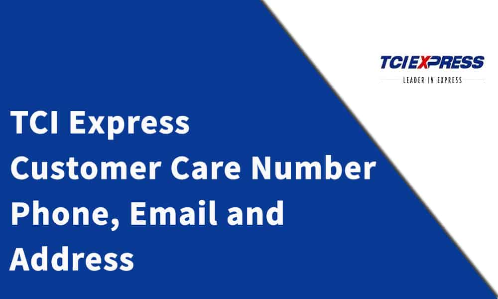 TCI Express Customer Care Number