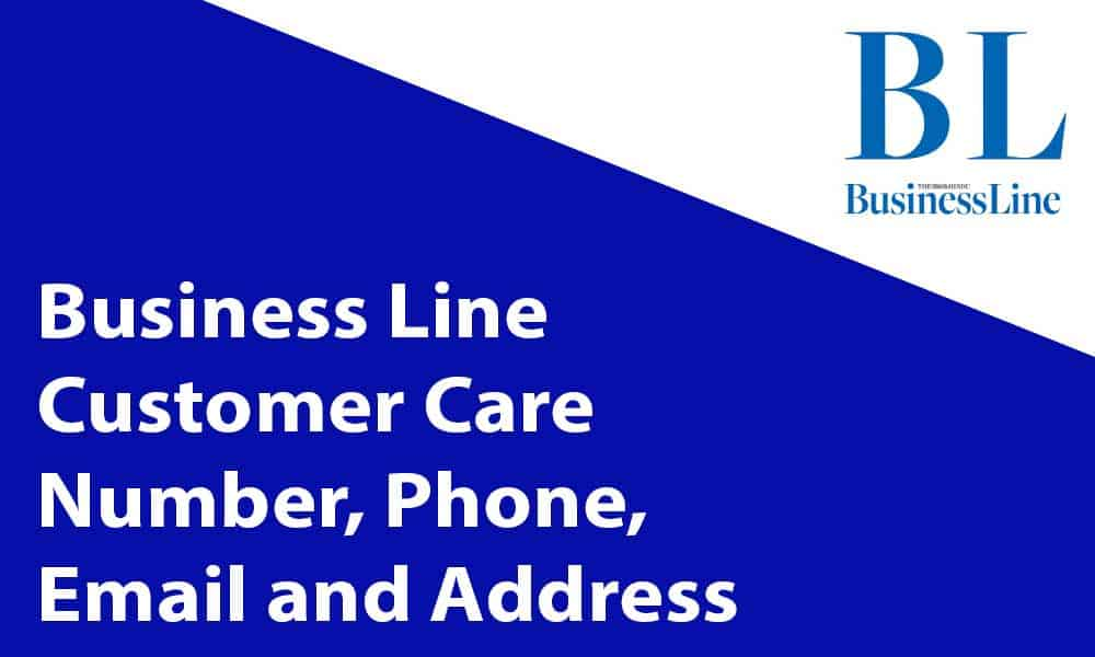 Business Line Customer Care Number