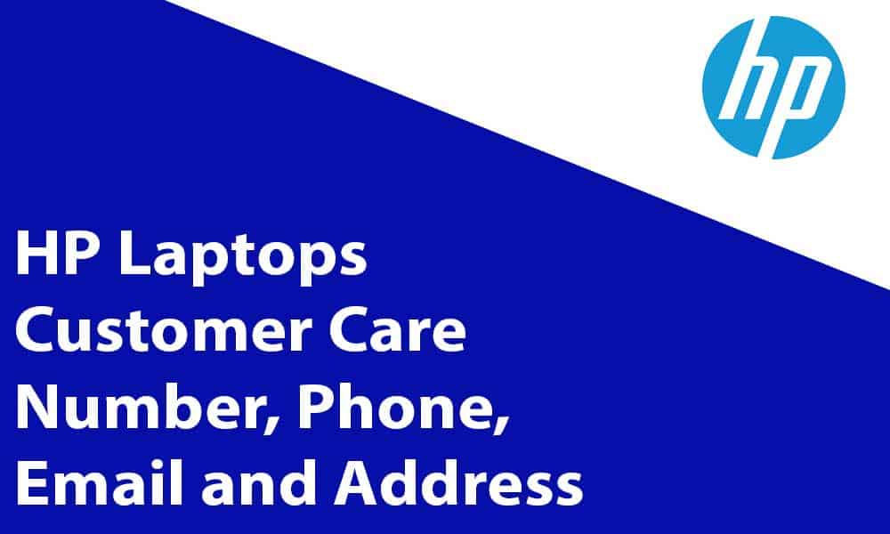 HP Laptops Customer Care Number