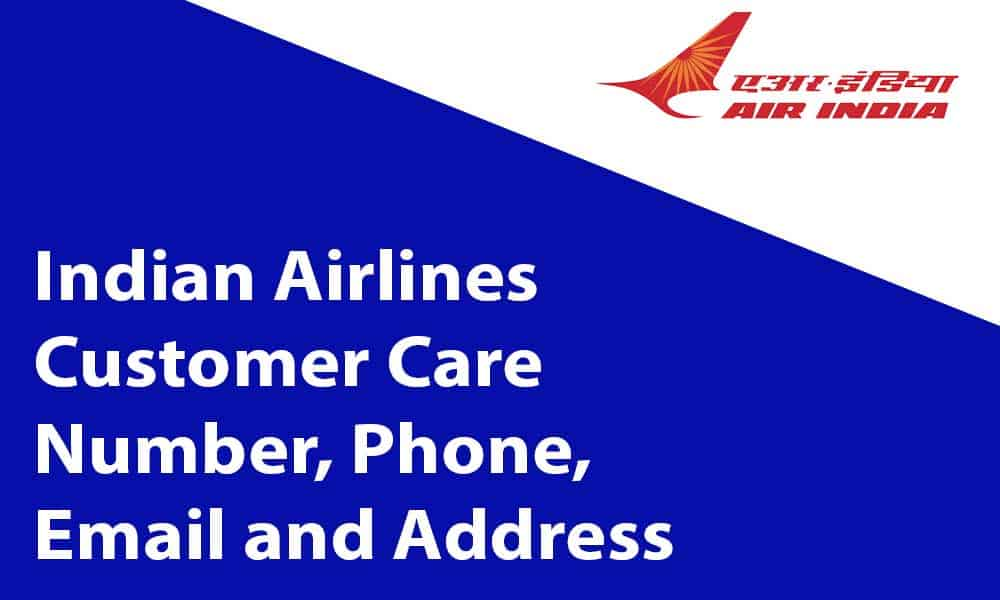 Indian Airlines Customer Care Number