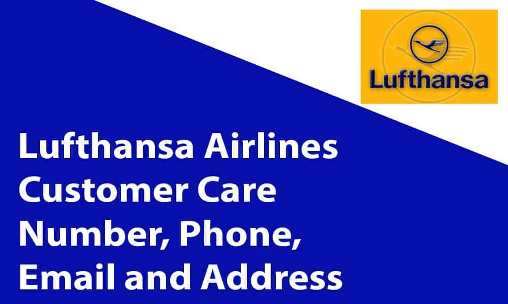 Lufthansa Airlines Customer Care Number