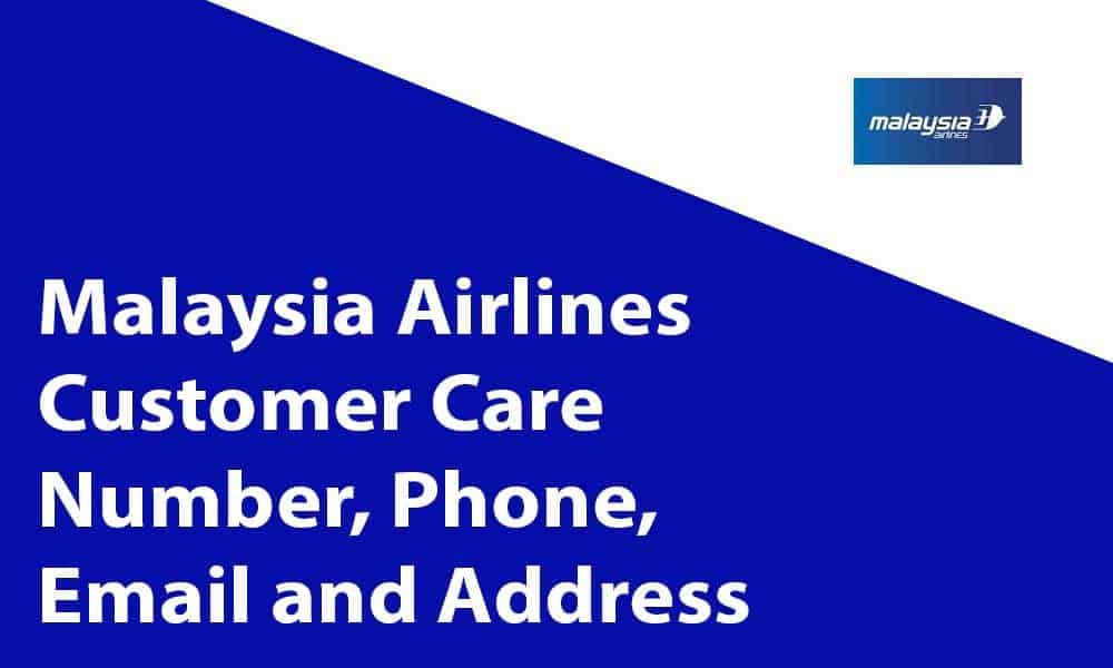 Malaysia Airlines Customer Care Number