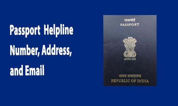 Passport Helpline