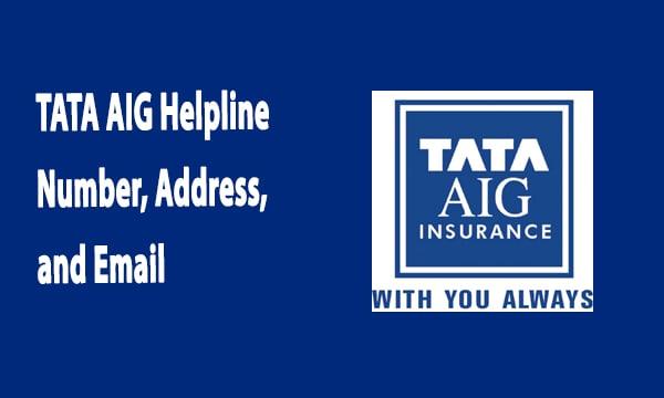 TATA AIG Helpline