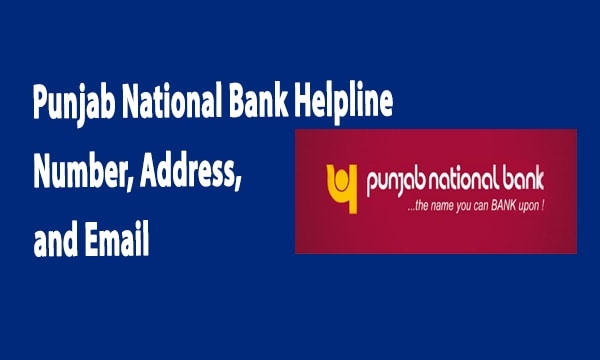punjab national bank helpline